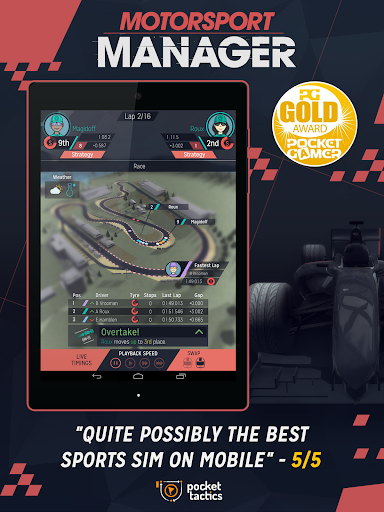 Motorsport Manager Mobile image 12