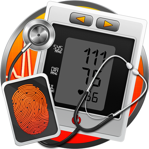 Fingerprint Blood Pressure :BP Monitor Check Prank