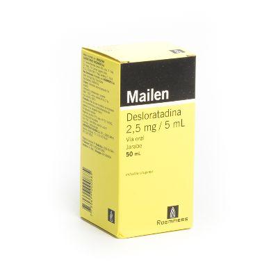 Desloratadina Mailen Jarabe 0,5 mg/mL x 50 mL