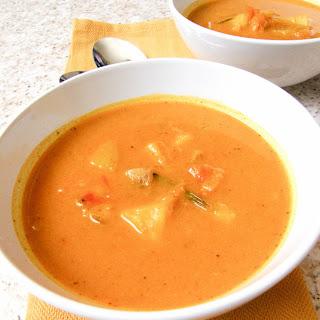 Hearty Potato Pumpkin Soup