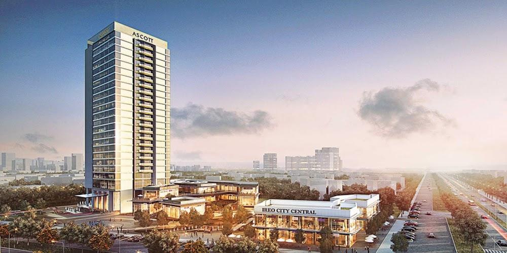Ascott Ireo City Studio Apartment