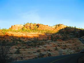 Photo: Near Zion Canyon