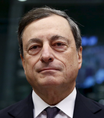 ECB president Mario Draghi.   Picture: REUTERS