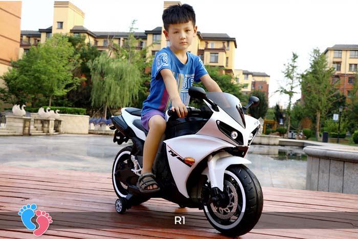 Xe mô tô điện thể thao cho trẻ R1 9