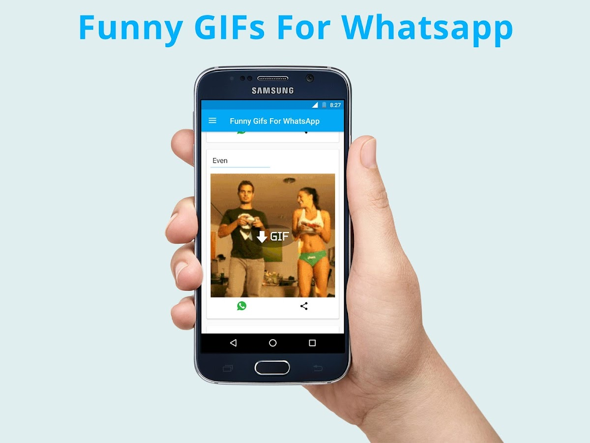 Mobile gif guide make animated gifs on your phone - Funny Gifs For Whatsapp Facebook Screenshot