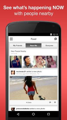 Moco - Chat, Meet People - screenshot