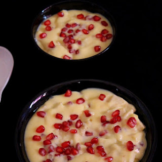 Fruit Custard Recipe Mixed, Custard with custard powder