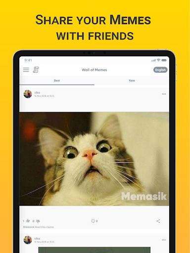 Memasik - Meme Maker Free App - screenshot