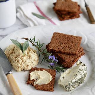 Savoury Almond Pulp Cracker Recipe