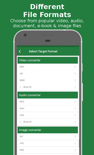 File Converter - By Online-Convert.com 1.0.16 gameplay | AndroidFC 2