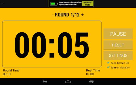Boxing Interval Timer FREE screenshot 14