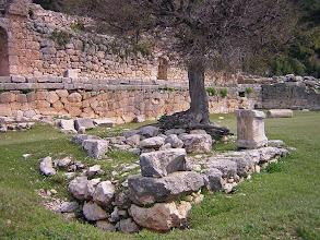 Photo: Arykanda, State Agora and Temple of Tyche in the middle .......... Arykanda, Stadsagora met resten van de Tempel van Tyche