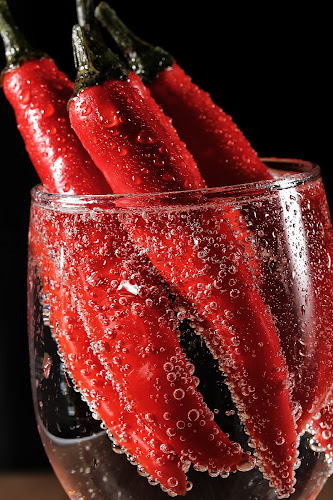 chili bubbles on glass by Ismed  Hasibuan  - Food & Drink Fruits & Vegetables