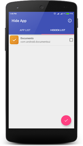Hide App screenshot 3
