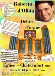 Concert délires d'orgues à chateaufort
