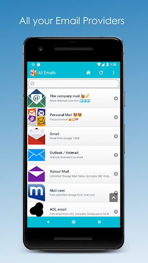 All Email Providers 5.0.21 gameplay | AndroidFC 1