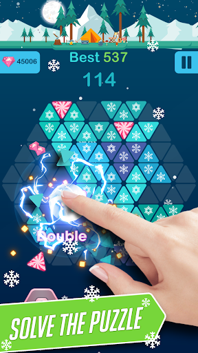Triangle Candy - Block Puzzle 1.2 {cheat|hack|gameplay|apk mod|resources generator} 1