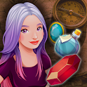 Gems Match and Merge in an Adventure Journey icon