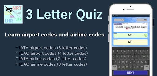 3 Letter Quiz – Applications sur Google Play