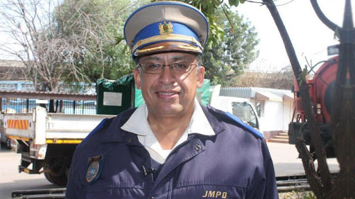 Wayne Minnaar, spokesperson of the JMPD.
