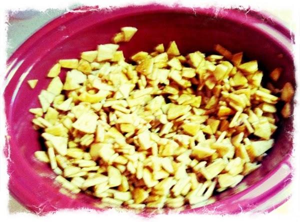 In medium bowl white sugar, dark brown sugar, cinnamon, ground cloves, salt, nutmeg and...