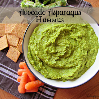 Avocado Asparagus Hummus Recipe