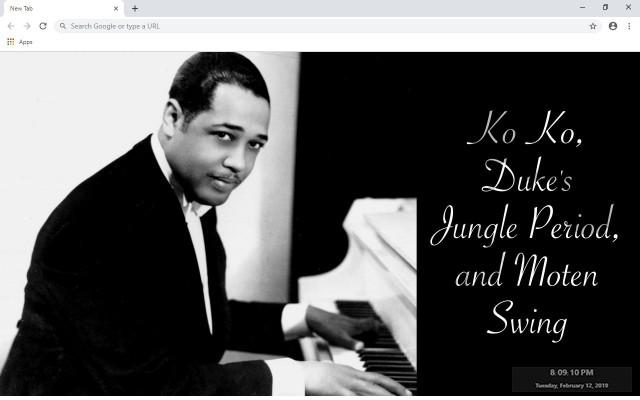 Duke Ellington New Tab
