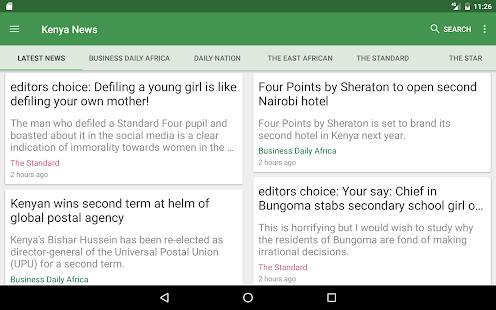Kenya News - náhled
