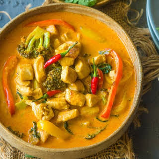 Chicken Panang Curry.