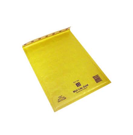 Luftbubbelpåse Gold F/3 50st
