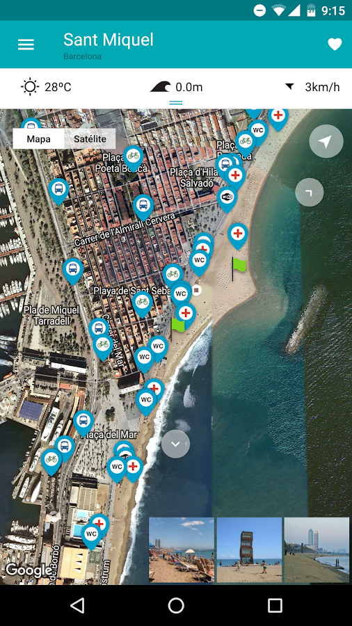 iBeach: Encuentra tu playa – Capture d'écran
