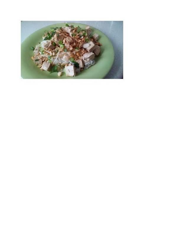 Asian Grain And Tofu Salad