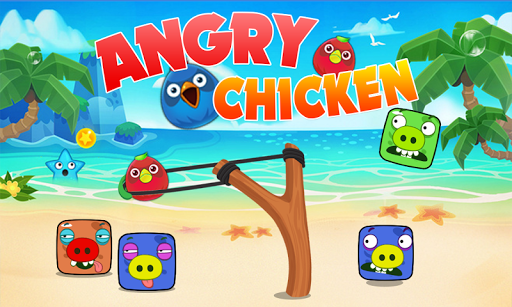 Angry Chicken - Knock Down 2.1 screenshots 2