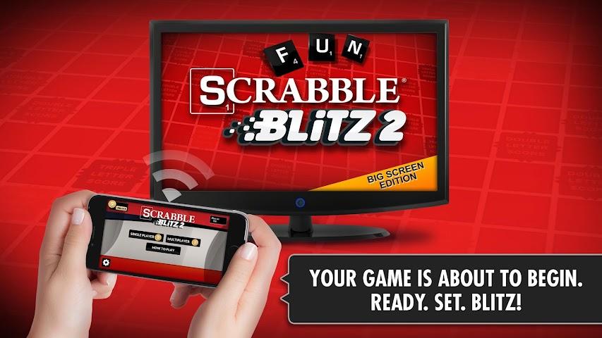 android SCRABBLE Blitz 2 Big Screen Screenshot 0
