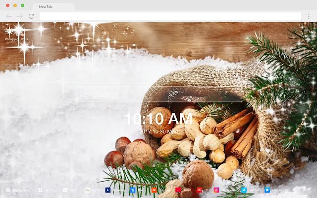 Nuts New Tabs HD Popular Foods Themes