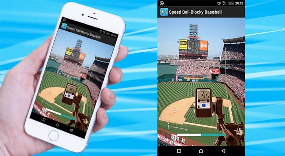 baseball speed gun : radar detector - náhled