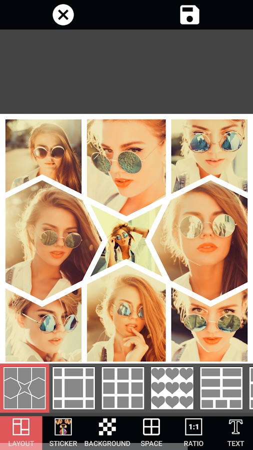 PIP Photo Collage Maker- screenshot