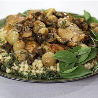 Spiced Chicken with Lebanese Couscous Recipe