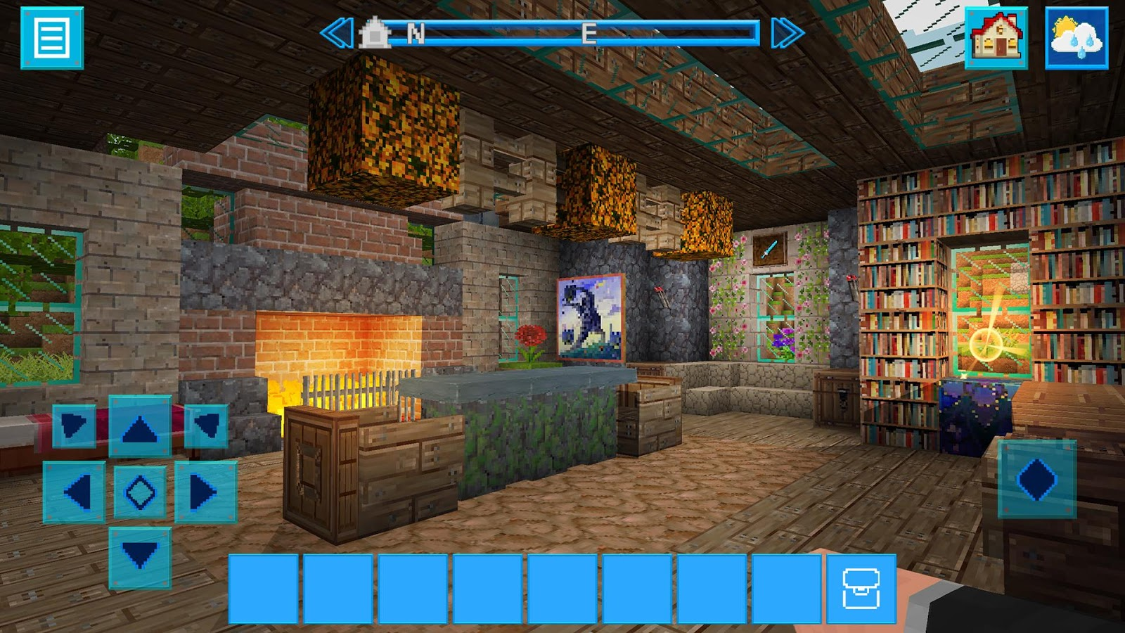 Earthcraft 3d block craft world exploration android for Block craft 3d games