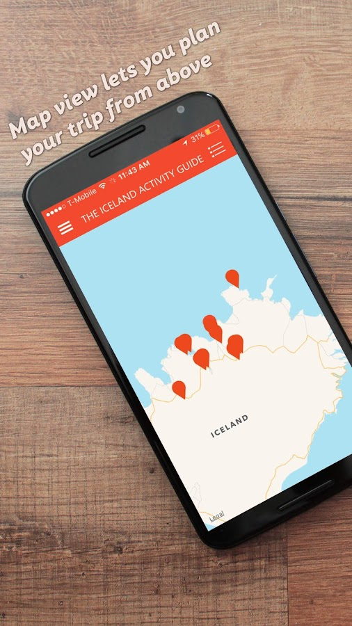 The Iceland Activity Guide- screenshot