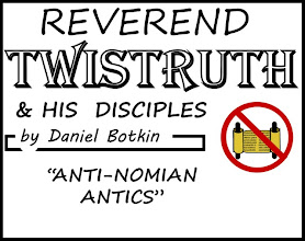 "Photo: Rev Twistruth and his Disciples by Daniel Botkin: ""Anti-Nomian Antics"""