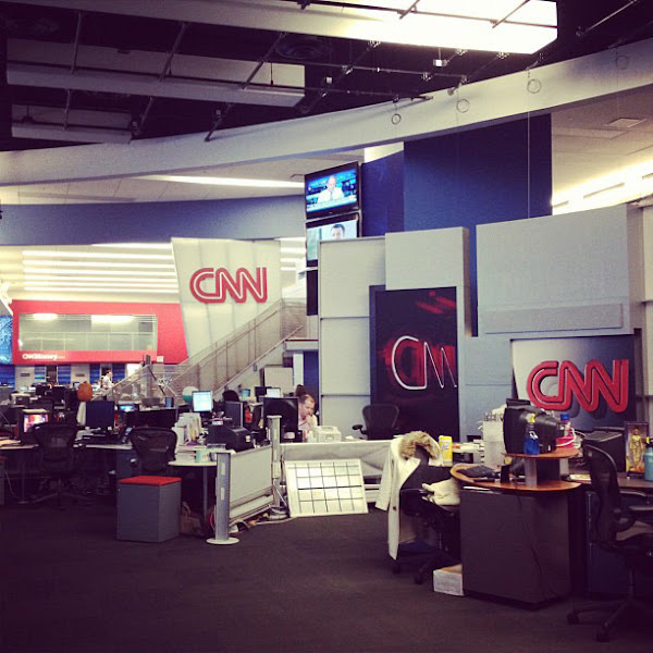 Photo: Our newsroom is about to go through some big changes... Here's what it looks like now.