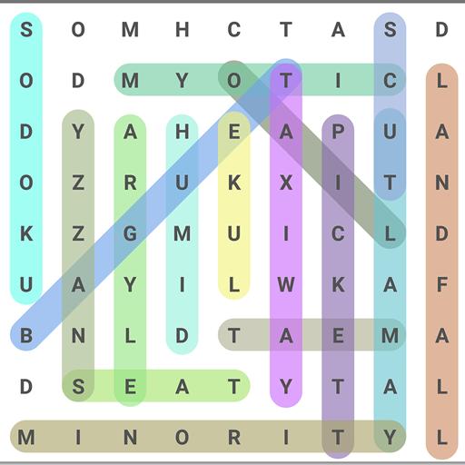 词搜索益智游戏 拼字 App LOGO-硬是要APP
