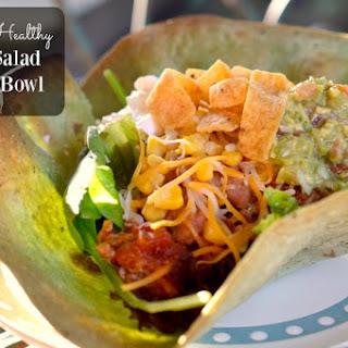 Heart-Healthy Taco Salad Bowl