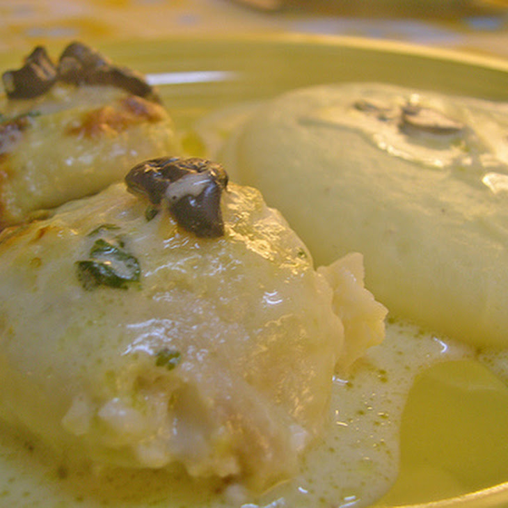 Hake Medallions with Cilantro and Olives