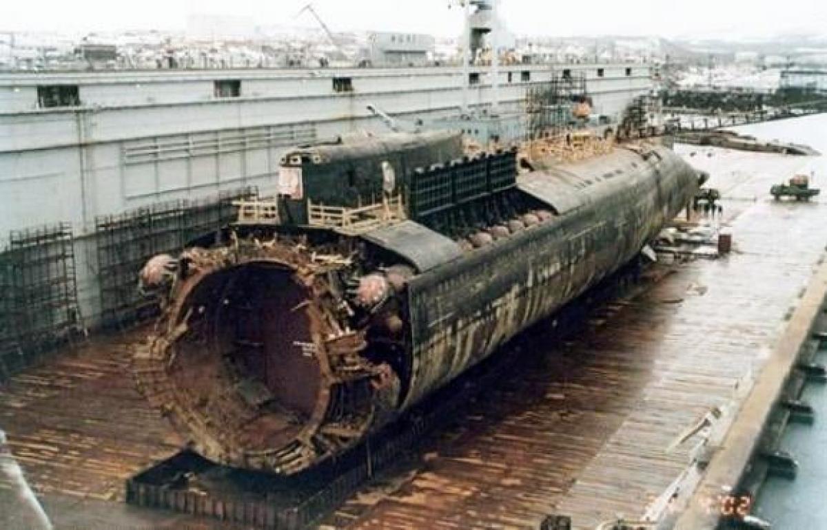 Підводний човен 'Курськ', Росія