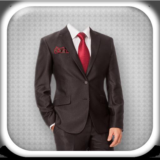 男性のスーツフォトモンタージュ 攝影 App LOGO-硬是要APP