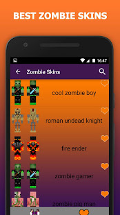 Zombie Skins For Minecraft PE Apps On Google Play - Skin para minecraft pe zombie