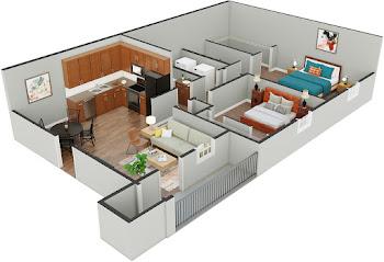 Go to Bluebird Floorplan page.