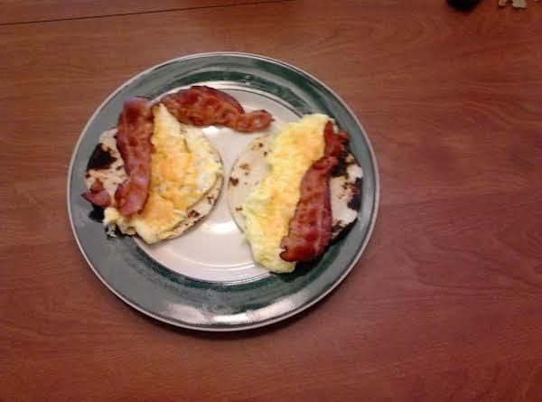 My Eggo Taco